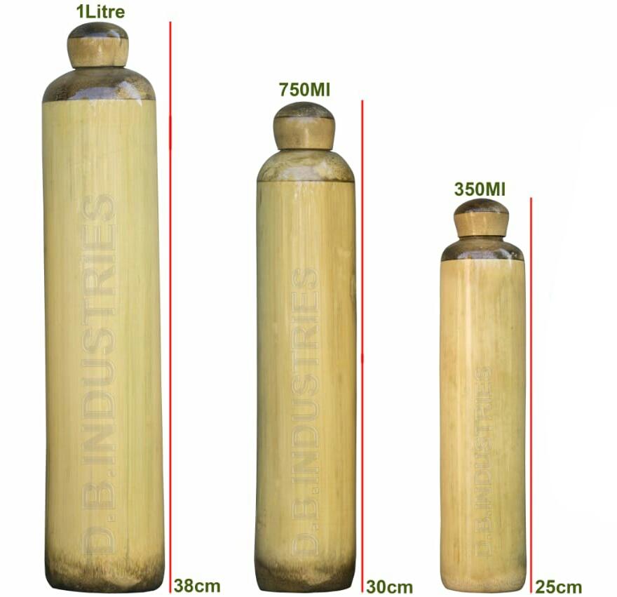 49c926fdd6 Bamboo Water bottle - Assam Clicks